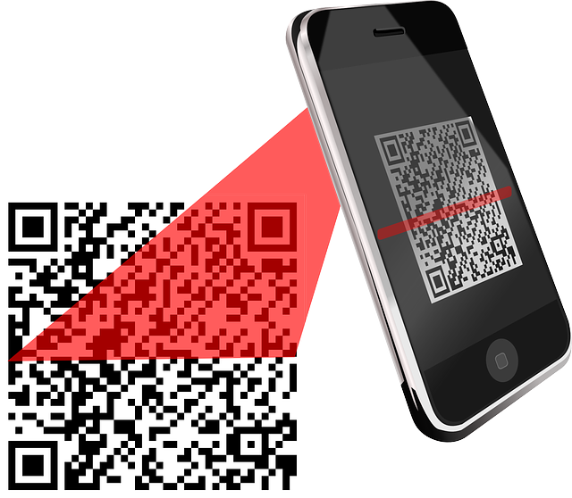 scanning QR coupon